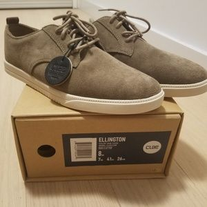 Men's Clae Ellington Suede Sneaker Sz 8 NEW